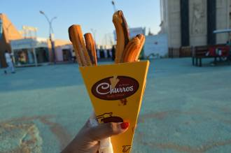 Churros from Food Truck
