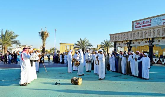 Traditional Emirati Dance