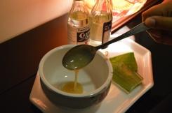 Tablespoon of each oil